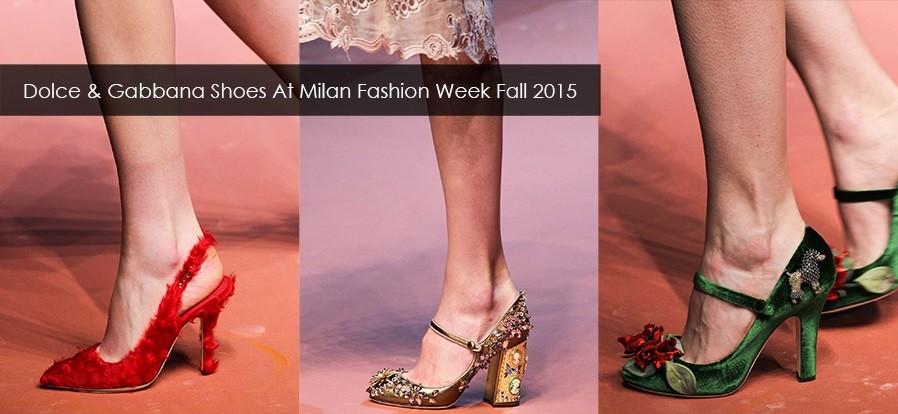 Dolce Gabbana shoes fall 2015 Milan Chiko1
